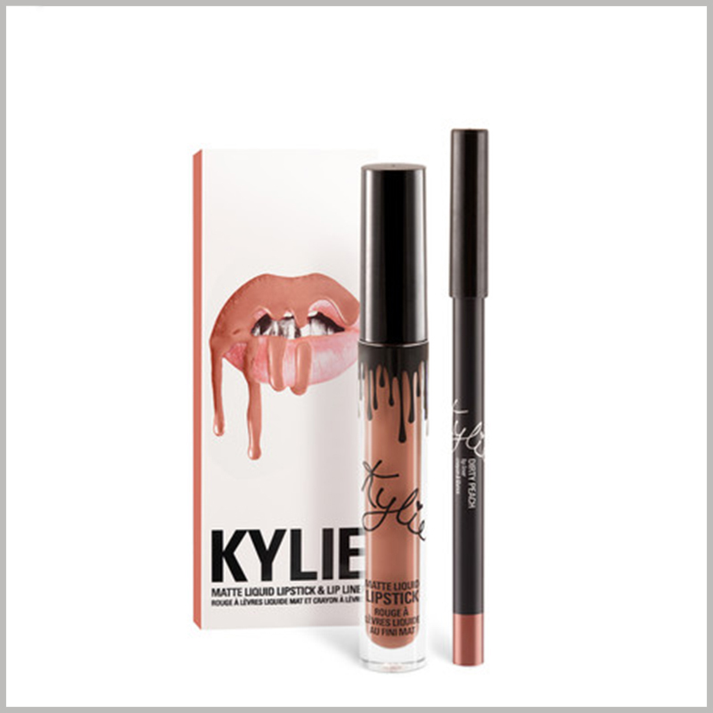 custom cheap kylie jenner lipstick packaging boxes