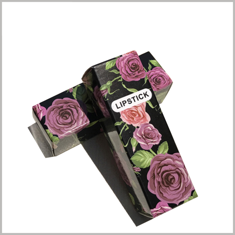 custom foldable lipstick packaging boxes wholesale