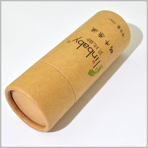 custom kraft paper tube for 30ml skin care product packaging.High-quality kraft paper tube packaging boxes have a great effect on the promotion of product value.