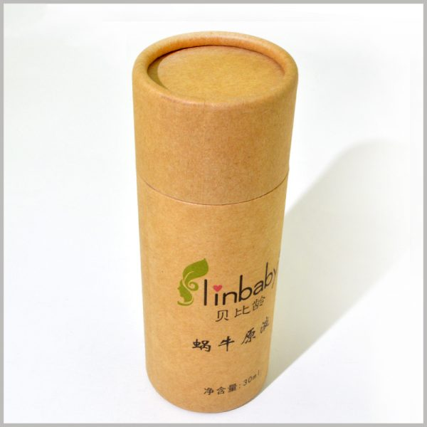 custom paper tube for 30ml skin care product packaging.Compared to large boxes, small packaging is more popular with consumers, and it is more convenient to carry packaging and products.