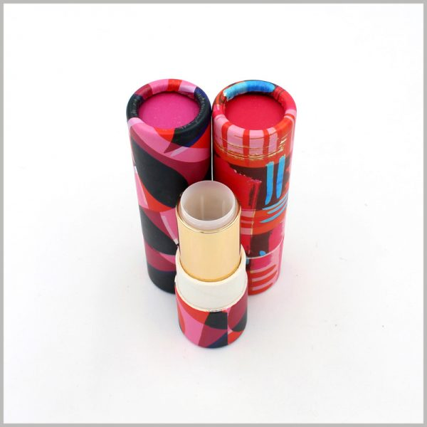empty paper lipstick tube packging boxes,Comes with a retractable lipstick tube. Filling the lipstick directly into the paper tube makes it the perfect product to sell.