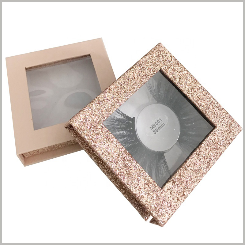 custom luxury square boxes for eyelash packaging.With stylish product packaging boxes, customers' value recognition of products and brands is enhanced.
