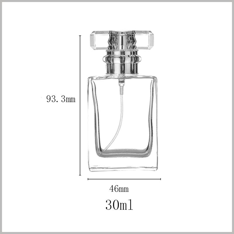 30ml perfume Spray Bottle with Fine Mist