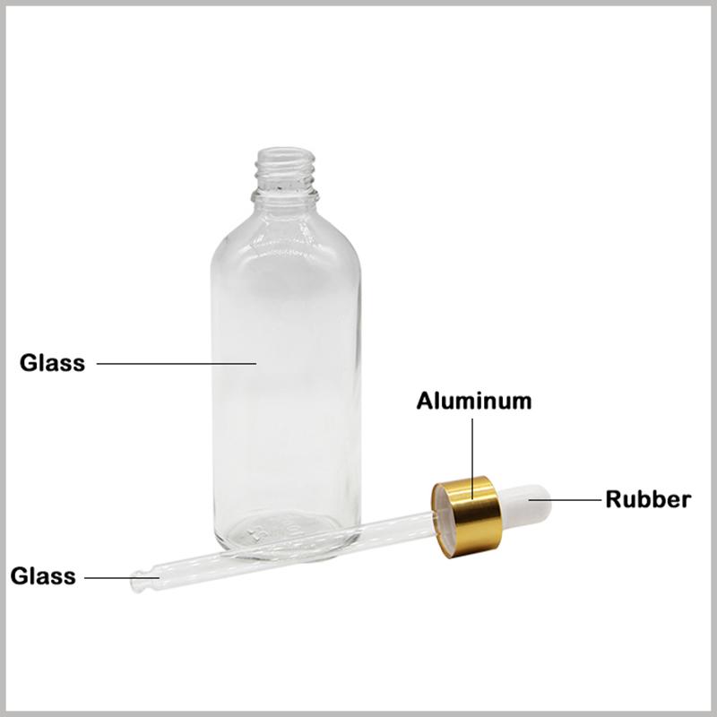 Clear Essential Oils Glass Bottles wholesale
