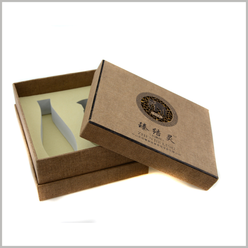 Custom Creative Imitation cloth cardboard packaging for shampoo box set.Unique packaging will be able to influence the promotion of the product and promote the value of the product.