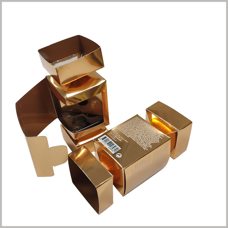 Custom Creative candy-shape boxes for lipstick packaging. Creative lipstick packaging design will greatly improve the attractiveness and value of the product, with a high cost performance.