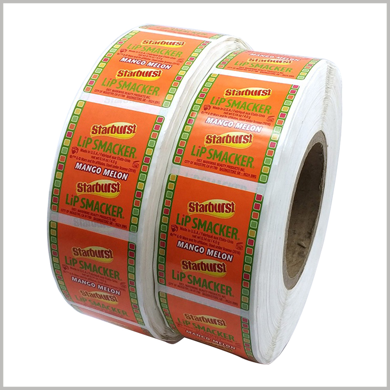 Custom Printed roll labels wholesale.Roll-shaped stickers can improve the appearance of the product, and will not reduce the manufacturing cost and transportation cost. It is one of the most cost-effective investments.
