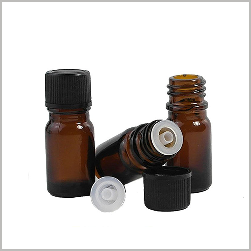Glass Essential Oil Bottles With Orifice and Cap wholesale