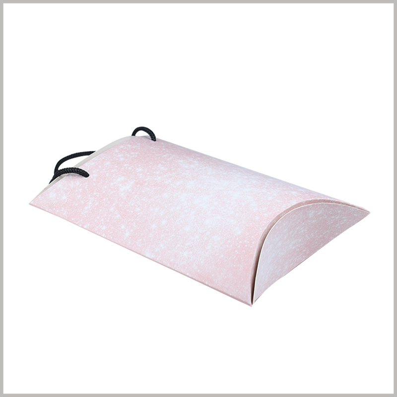 Pink pillow boxes wholesale. Pink wig packaging background theme is recognized and sought after by female consumers to a large extent