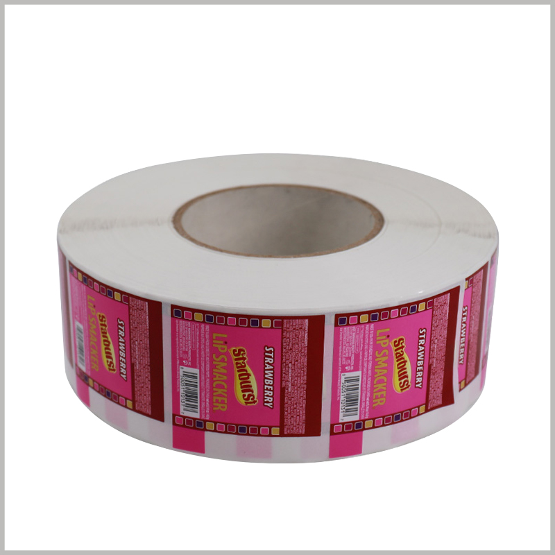 Printed roll labels for cosmetic.Customized cosmetic labels have a wide range of uses, and the material, size and printing content of the label can be selected according to the characteristics of the product.