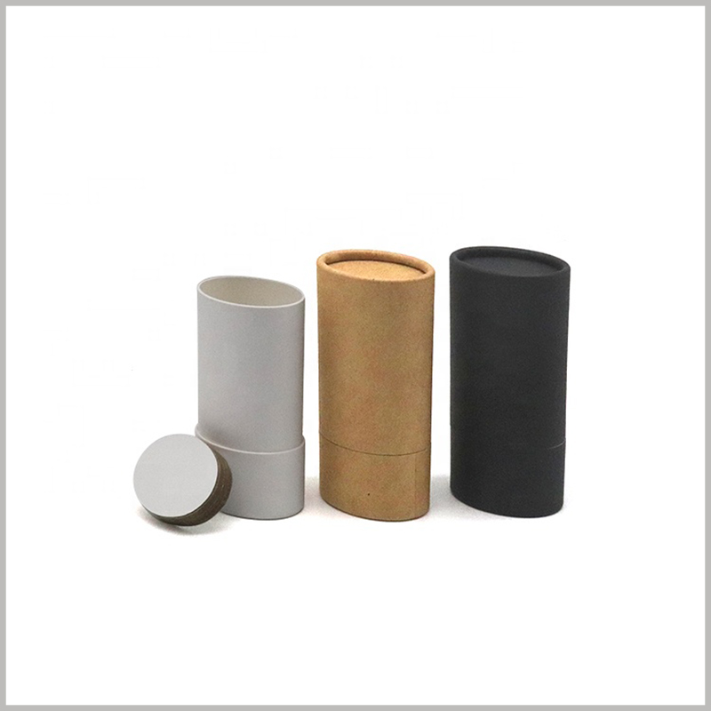 Recyclable Oval deodorant packaging wholesale. Deodorant packaging uses 100% recyclable paper as raw materials, which improves the environmental protection of the packaging.