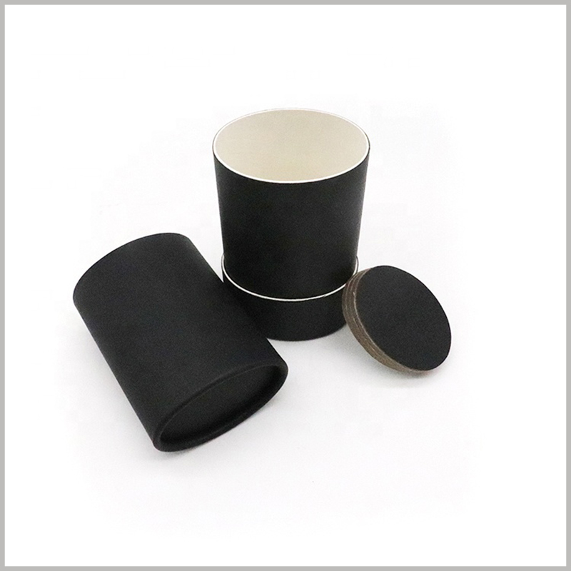 Recyclable black deodorant packaging. The size of the black tube packaging is determined according to the deodorant capacity to ensure 100% matching with the product.