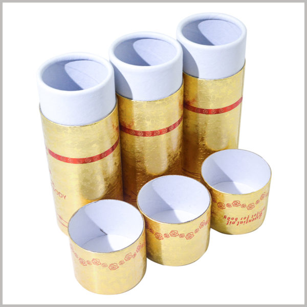 Small diameter cardboard tubes for 30ml body oil packaging boxes. The inner paper tube uses double copper paper as the laminated paper to improve the appearance and experience of the inner paper tube.