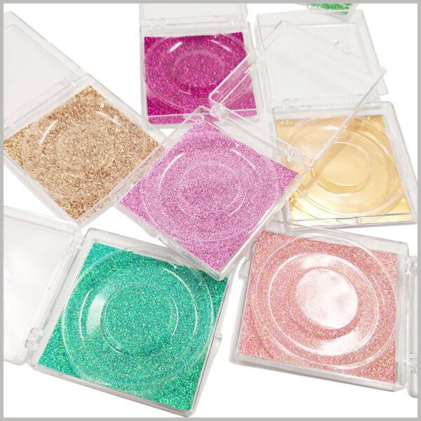 Square pvc packaging for eyelashes