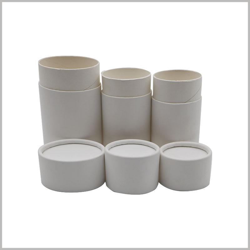 White oval tube packaging for deodorant