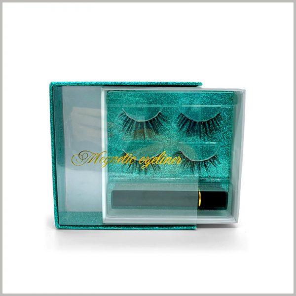 Windowed-eyelash-packaging-box-square-design-for-2-pairs
