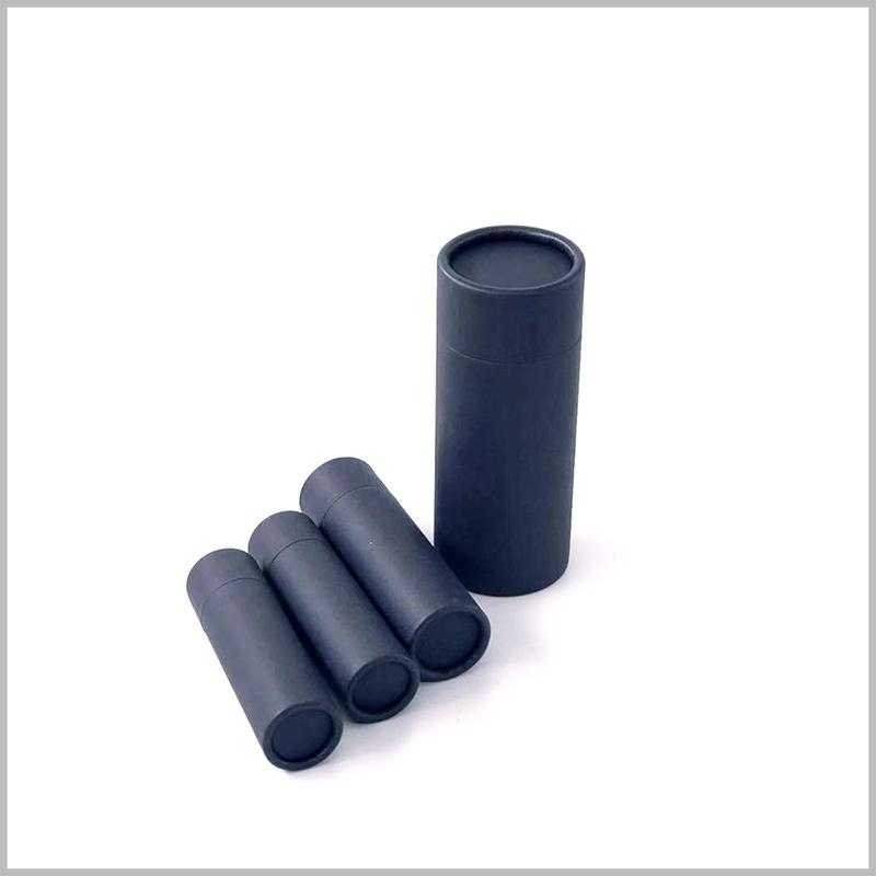 black biodegradable push up tubes packaging