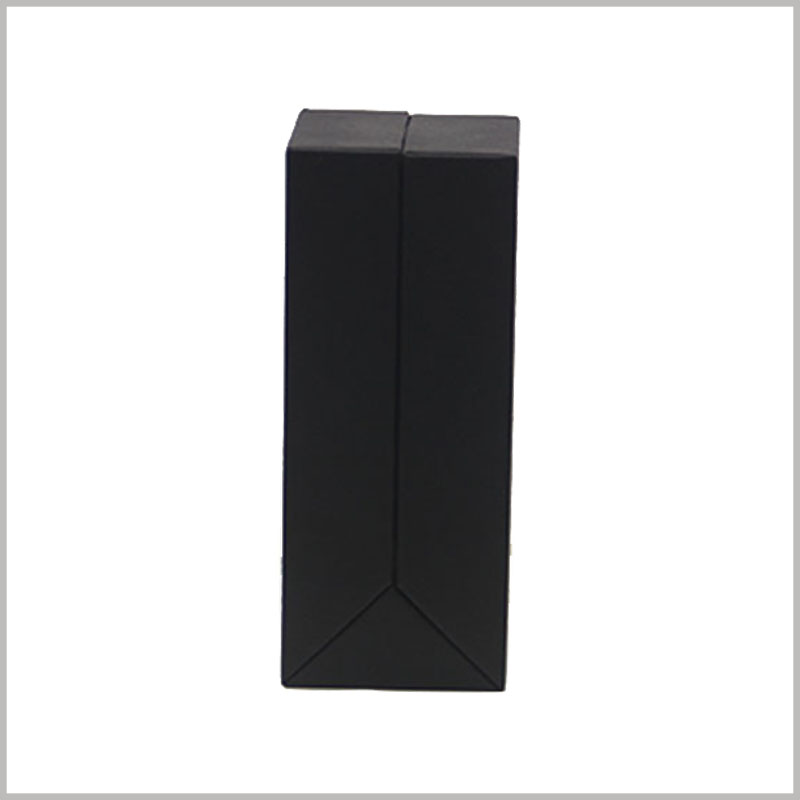 black unique cardboard boxes wholesale. According to the characteristics of the product, specific content and patterns are printed on the surface of the customized packaging.