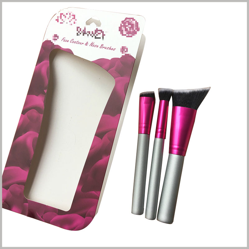 Custom cheap custom blister card packaging for makeup brushes. Custom packaging is to determine the style and design content according to the product, so that the packaging and product can be completely matched.
