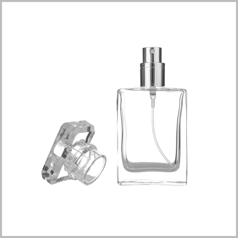 clear perfume Spray Bottle with Fine Mist