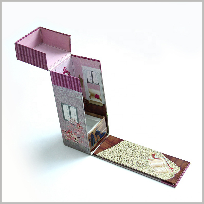 creative cardboard boxes with eva insert. The internal and external designs of cosmetic brushes are unique and can impress customers instantly.