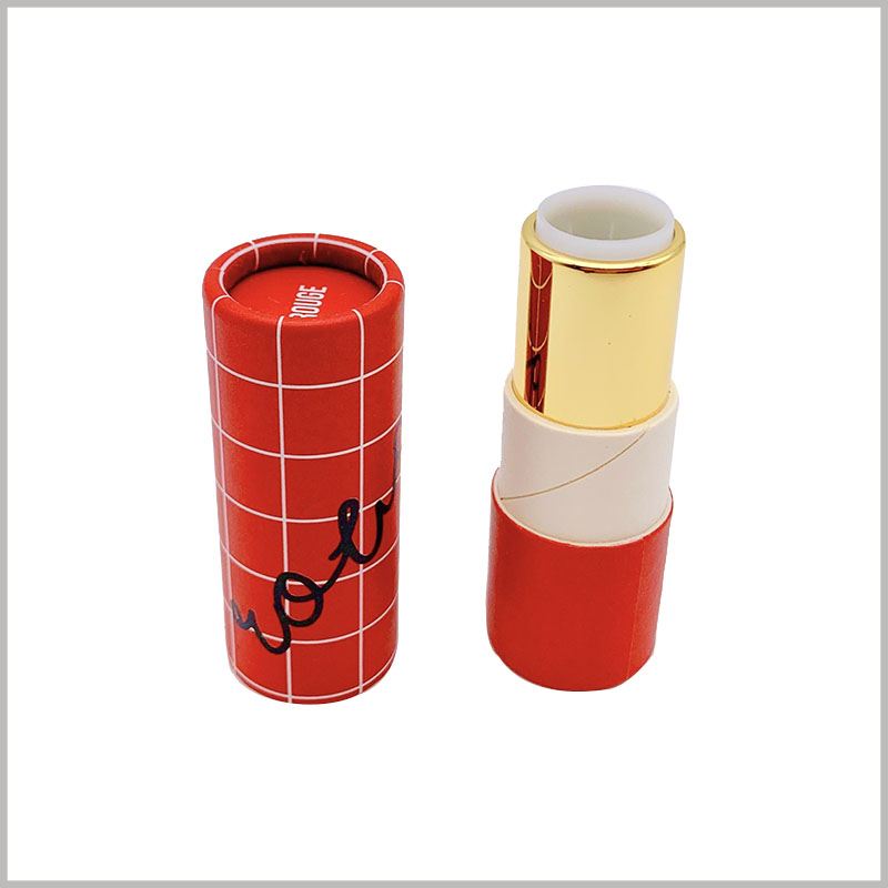 creative eco friendly lipstick tubes wholesale.The empty lipstick tube is composed of a paper tube and a retractable plastic inner tube. The paper tube can be printed with a specific pattern and brand name.