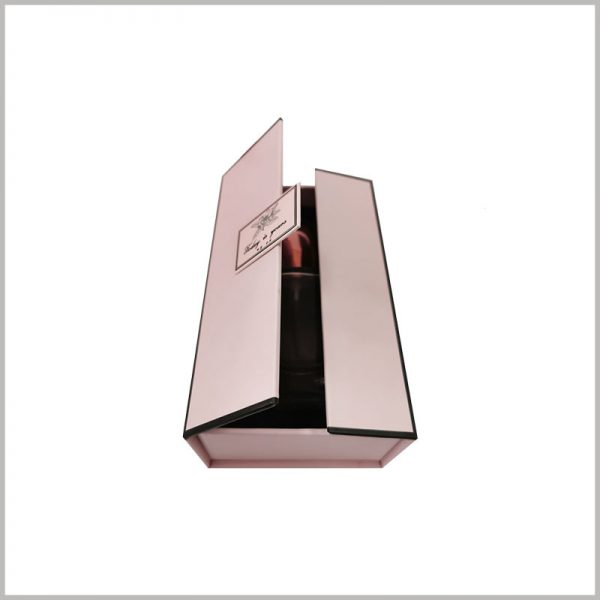 creative gift boxes for perfume bottles, The unique packaging structure can attract the attention of customers and increase the value of the product.