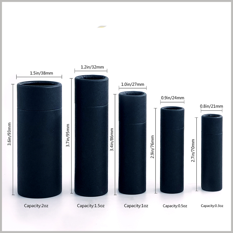 custom biodegradable push up tubes for deodorant packaging
