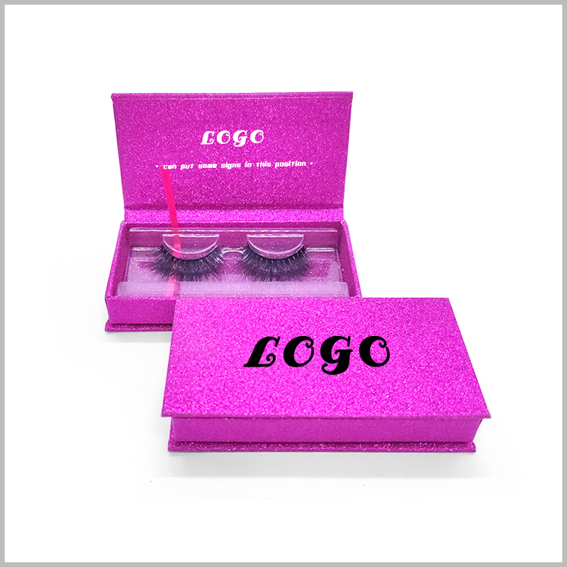 custom cardboard boxes for eyelash packaging.Print your logo (larger) on the front of cardboard boxes, and consumers will focus on the brand.