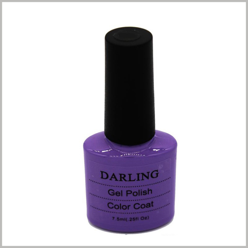 custom clear labels for nail polish bottles.Clear labels will allow you to see the color of nail polish and the style of the bottle, which is more attractive to customers.