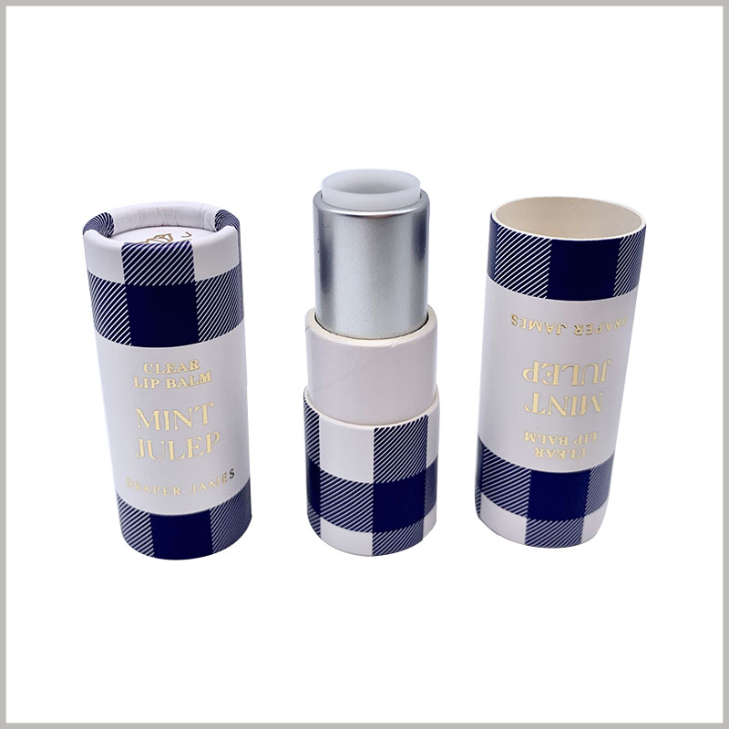 custom creative empty paper lipstick tubes packaging. The environmentally friendly material is used as the raw material of the lipstick outer tube, which makes the lipstick outer tube completely biodegradable.