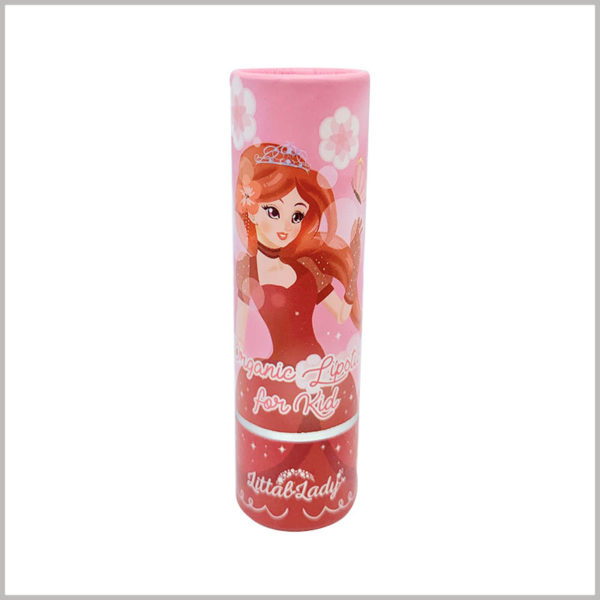custom eco friendly empty lipstick tubes wholesale. Lipstick paper tube is made of fully biodegradable paper as raw material, and it is easier to achieve better results in coloring and printing patterns