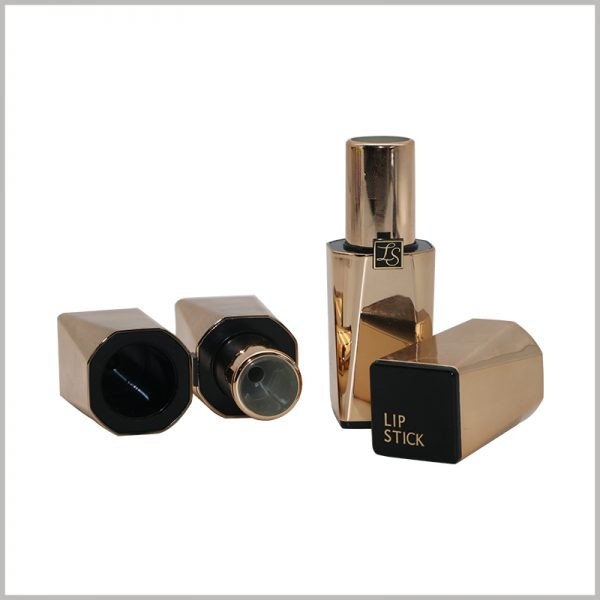 custom empty gold lipstick tubes wholesale
