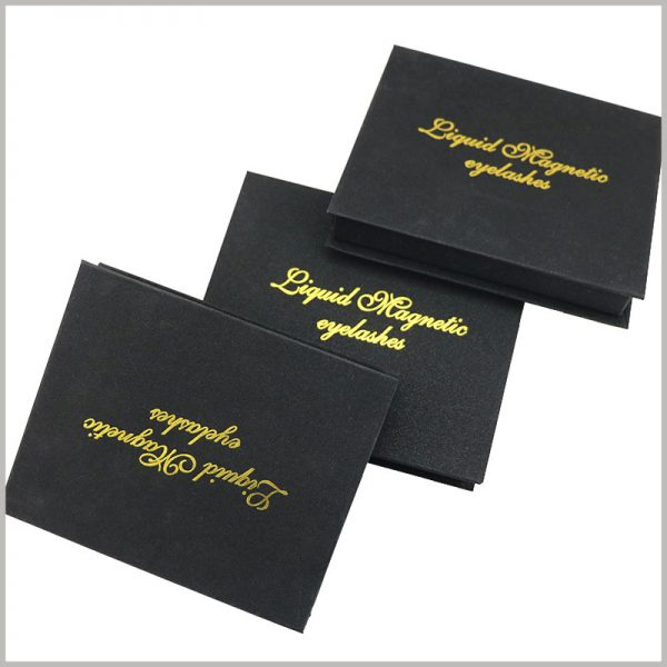 custom eyelash packaging boxes with logo. Branded eyelash products are more likely to be welcomed by customers, and it is necessary to print the brand name or information on the top of the package.