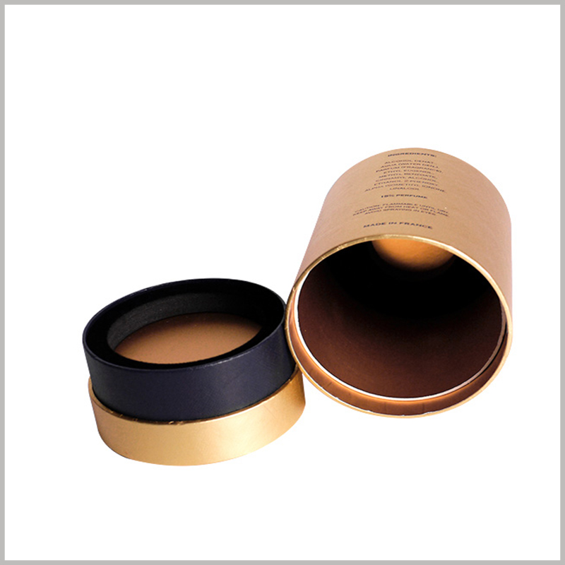 custom luxury perfume packaging tubes.The custom perfume package has an inner tube, which is used to jam the EVA, which is the exposed part of the EVA.