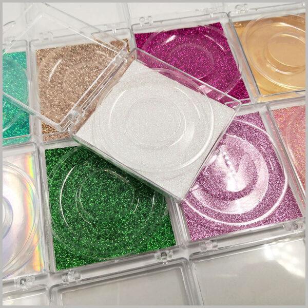 custom plastic packaging for eyelashes