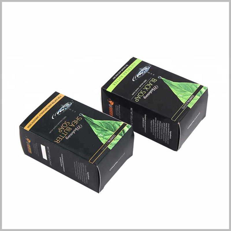 custom printed packaging for soap boxes. eco friendly soap packaging boxes can be completely biodegradable, minimizing the damage caused by packaging to the environment.