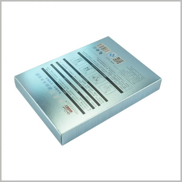 custom skin care boxes for hydrating face mask packaging,The specific information of skin care products, such as product ingredients, efficacy, use methods and precautions, can be printed on the surface of boxes