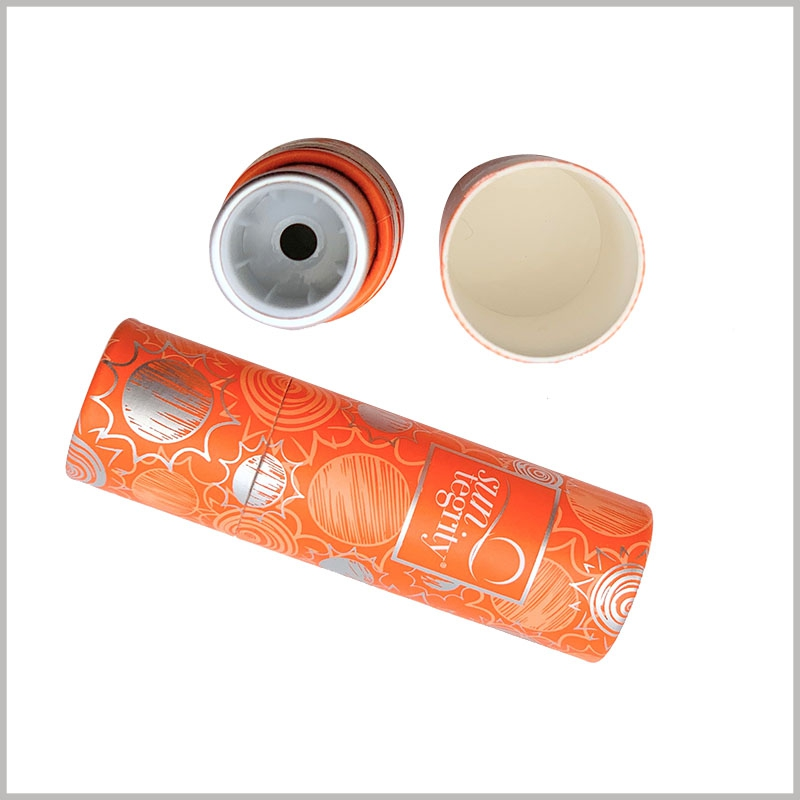 custom sunscreen lipstick tube empty. Empty lipstick tube packaging can be used directly to assemble the product, and then directly used for product sales.