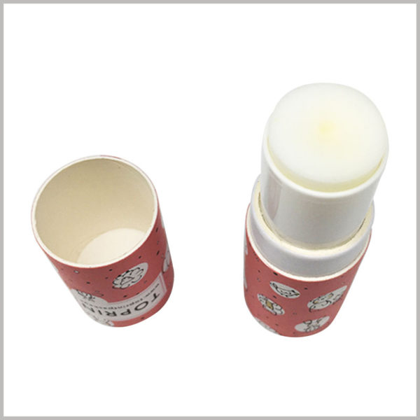 eco friendly cardboard lip balm tubes empty. Customized tube packaging has strict requirements for printing, ensuring that paper tube packaging has high quality.