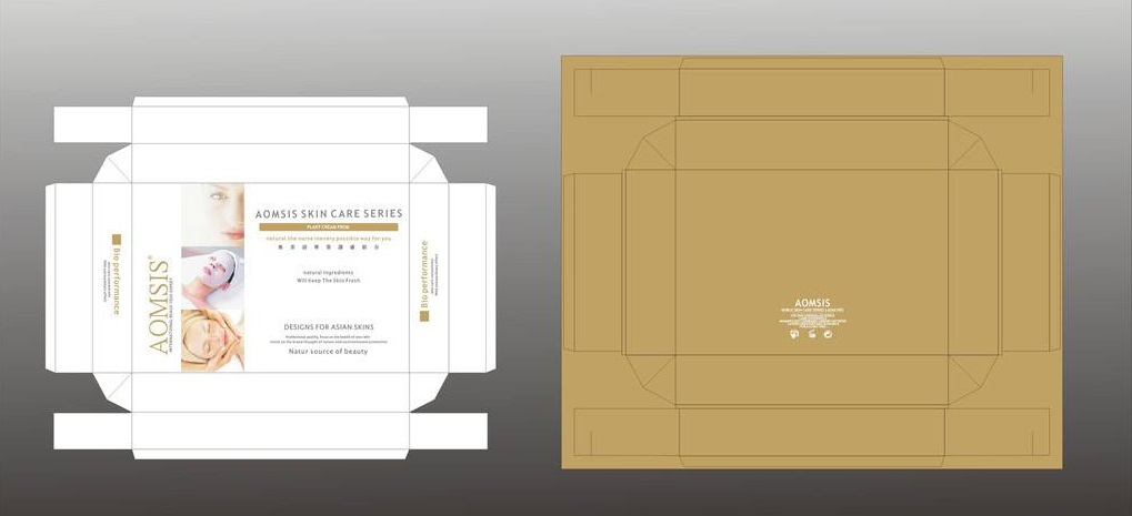 face mask packaging design,The packing box can be folded, and there is almost no weight, which is convenient to carry