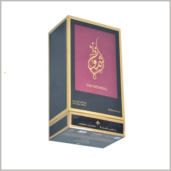 high quality 100 ml perfume gift boxes wholesale. Customized perfume packaging details are handled carefully, which is conducive to enhancing the quality of packaging and product value.