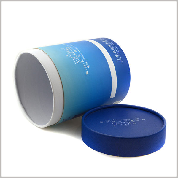 large diameter paper tubes packaging for skincare boxes,The details of the cardboard tube packaging are handled in place without color differences or defects, ensuring the high quality of customized packaging.