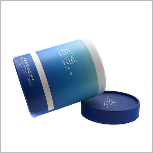 Custom large paper tubes packaging for Moisturizing skincare boxes.Skin care packaging design has a fashion trend that will increase the product's appeal to customers.