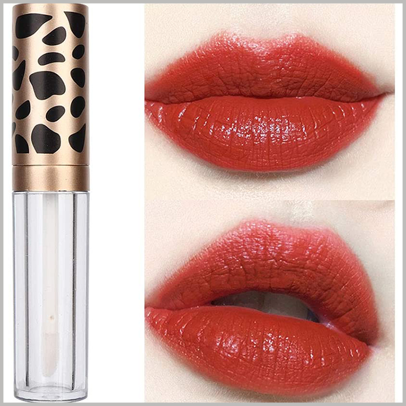 lip gloss tube with Leopard Print wholesale