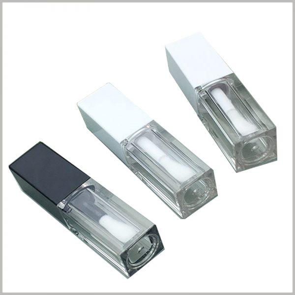 lip gloss tubes bottles with Lipbrush wholesale