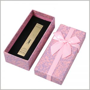 lipstick gift box for single. Artistic cardboard gift boxes for lipstick packaging, which is of great help to increase the value of products and brands.