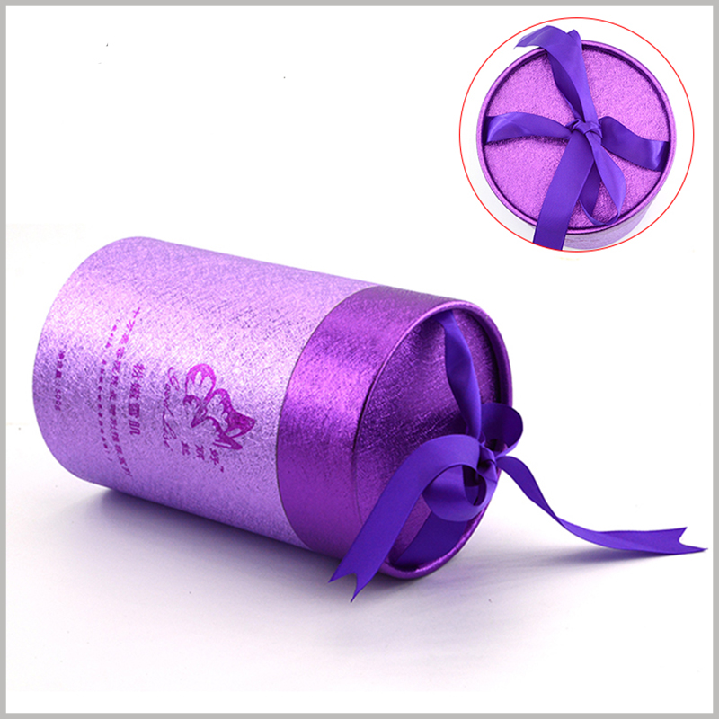 luxury cardboard tube gift packaging for skin care products.The special materials and printing process increase the uniqueness and attractiveness of skincare tube packaging.