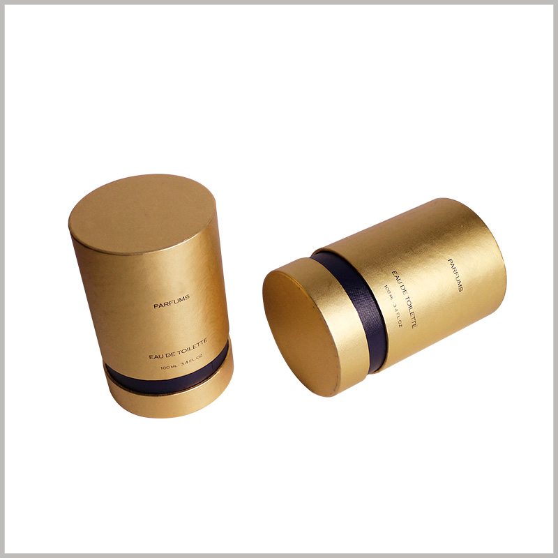 luxury perfume packaging tubes wholesale.Custom perfume packaging has unique content, and detailed information is used to explain the product.