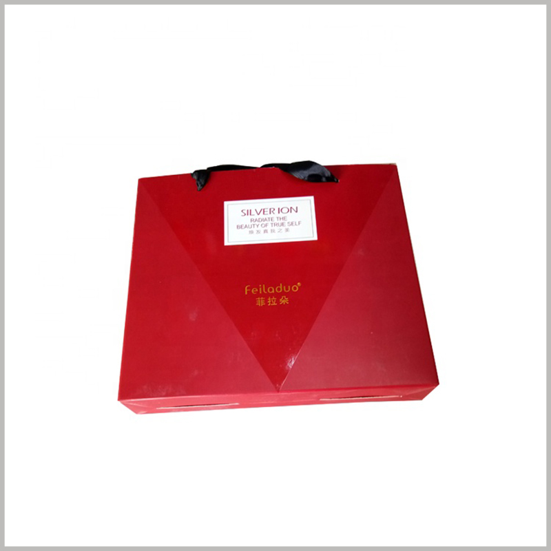 red large shampoo packaging box